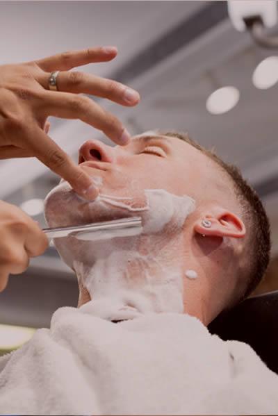 barbershop shave weston