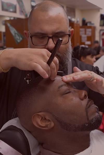 dels barber shop in weston