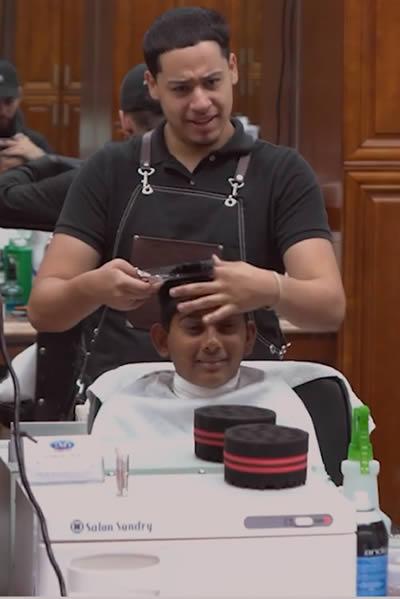 haircut weston