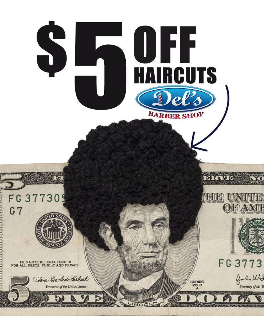5 Dead Presidents OFF your haircut